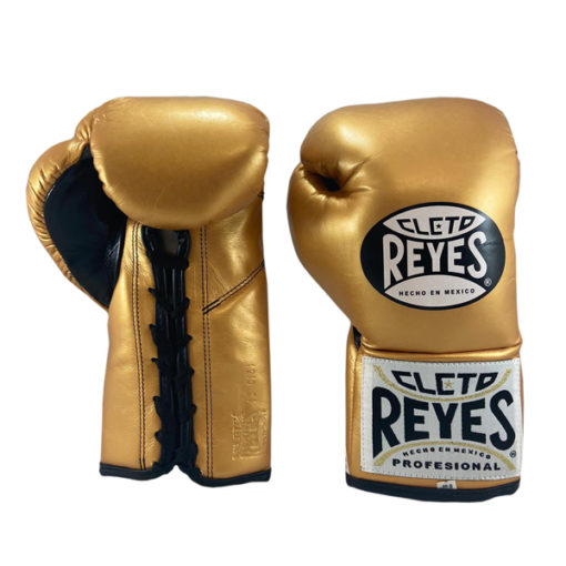 Cleto Reyes Professional Boxing Gloves Solid Gold