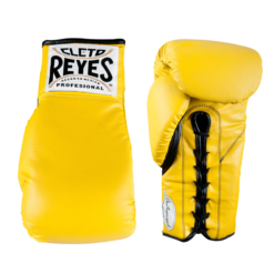 Cleto Reyes Autograph Gloves Yellow