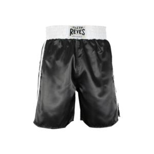 Cleto Reyes Boxing trunks Black and white