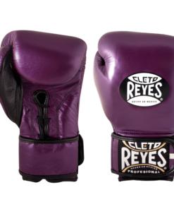 Cleto Reyes Hybrid Boxing Gloves Purple