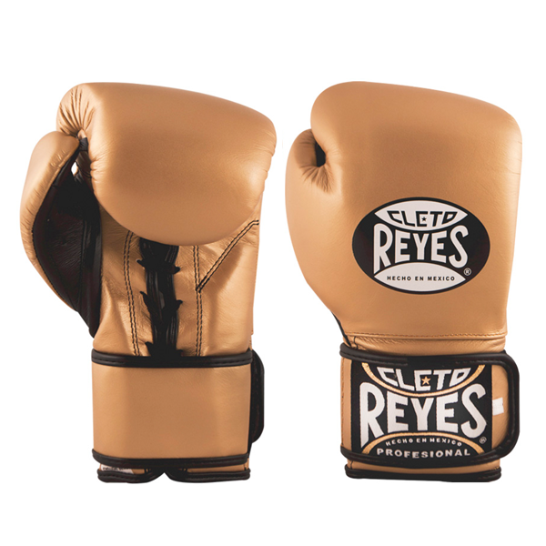 Cleto Reyes Hybrid Boxing Gloves Solid Gold