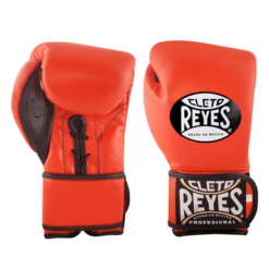 Cleto Reyes Hybrid Boxing Gloves Tiger Orange