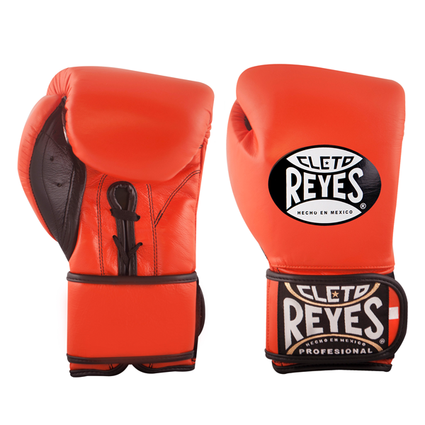 Cleto Reyes Hybrid Boxing Gloves Tiger Orange