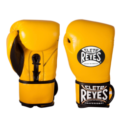Cleto Reyes Hybrid Boxing Gloves Yellow