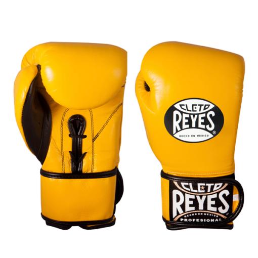Cleto Reyes Hybrid Boxing Gloves Yellow
