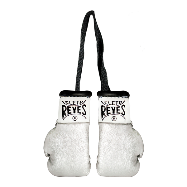 Cleto Reyes Miniature Glove Pair Silver