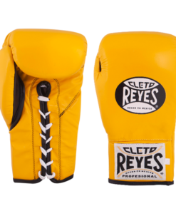 Cleto Reyes Official Safetec Gloves Yellow