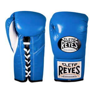 Cleto Reyes Professional Fights Boxing Gloves Electric Blue