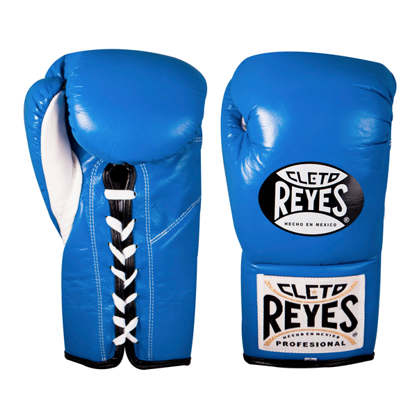 Solid Gold Cleto Reyes Official Lace Up Competition Boxing Gloves