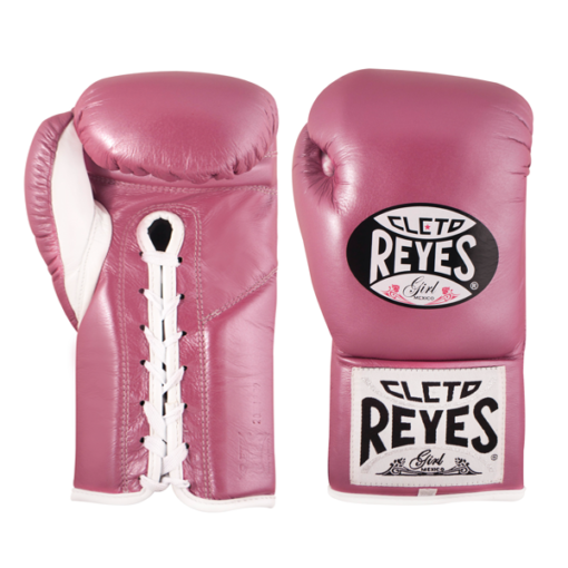 Cleto Reyes Professional Fights Boxing Gloves Pink