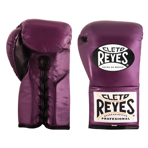 Cleto Reyes Professional Fights Boxing Gloves Metallic Purple