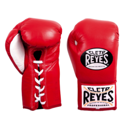 Cleto Reyes Professional Fights Boxing Gloves Red