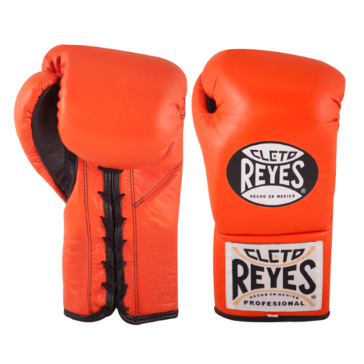 Cleto Reyes Professional Fights Boxing Gloves Tiger Orange