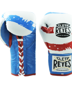 Cleto Reyes Professional Fights Boxing Gloves USA Flag