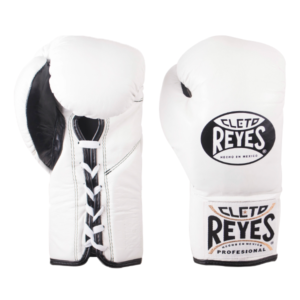 Cleto Reyes Professional Fights Boxing Gloves White
