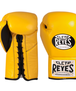 Cleto Reyes Professional Fights Boxing Gloves Yellow