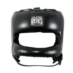 Cleto Reyes Redesigned Face Bar Headgear Black