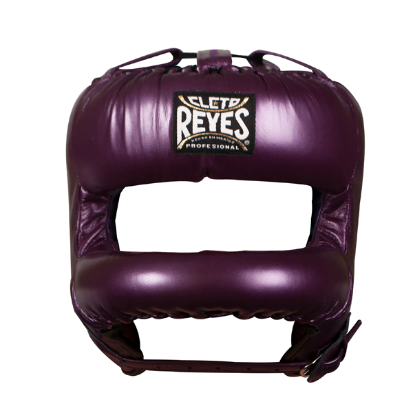 Cleto Reyes Redesigned Face Bar Headgear Metallic Purple
