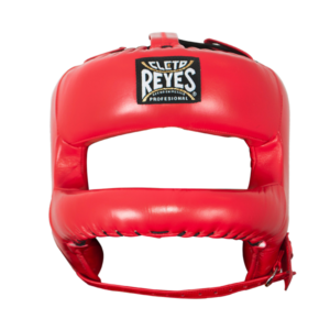 Cleto Reyes Redesigned Face Bar Headgear Red