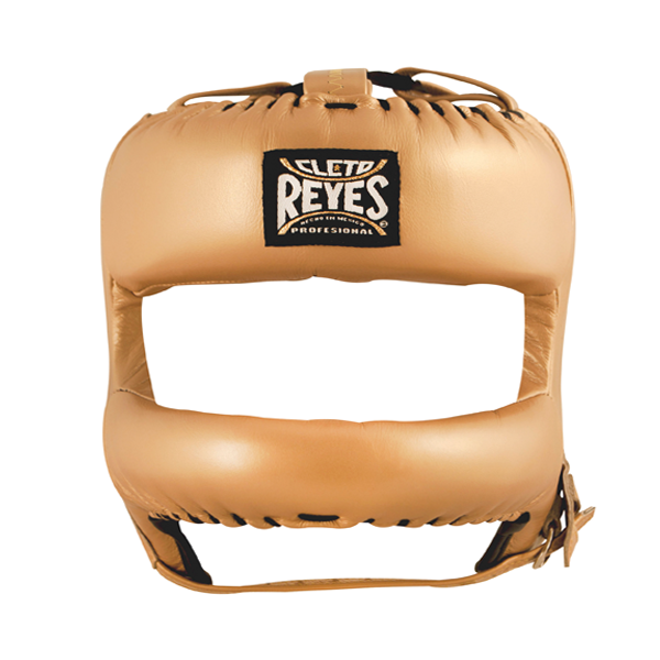 Cleto Reyes Redesigned Face Bar Headgear Solid Gold