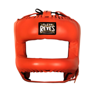 Cleto Reyes Redesigned Face Bar Headgear Tiger Orange