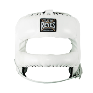 Cleto Reyes Redesigned Face Bar Headgear White