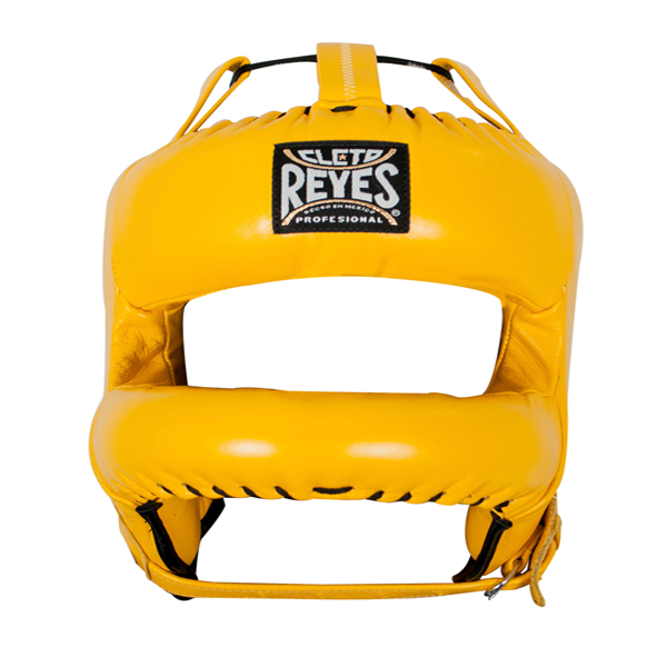 Cleto Reyes Redesigned Face Bar Headgear Yellow