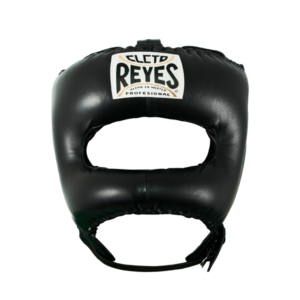 Cleto Reyes Traditional Face Bar Headgear Black