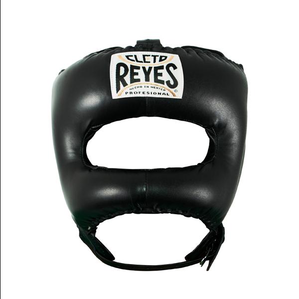 Cleto Reyes Traditional Face Bar Headgear Black