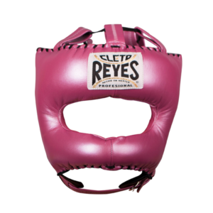 Cleto Reyes Traditional Face Bar Headgear Metallic Pink