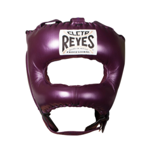 Cleto Reyes Traditional Face Bar Headgear Metallic Purple