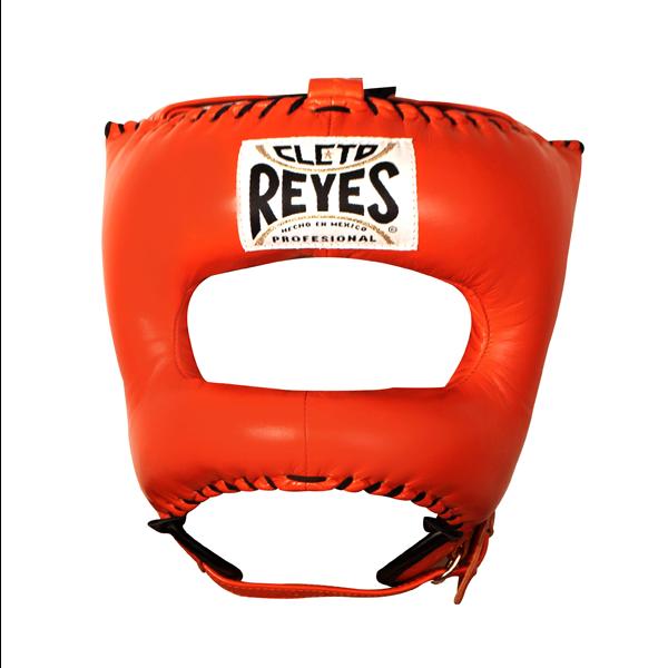 Cleto Reyes Traditional Face Bar Headgear Tiger Orange