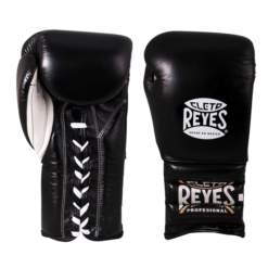 Cleto Reyes Traditional Training Lace Gloves Black