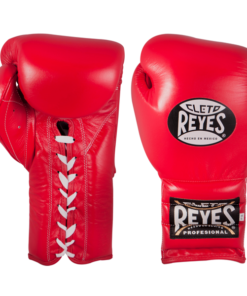 Cleto Reyes Traditional Training Lace Gloves Red