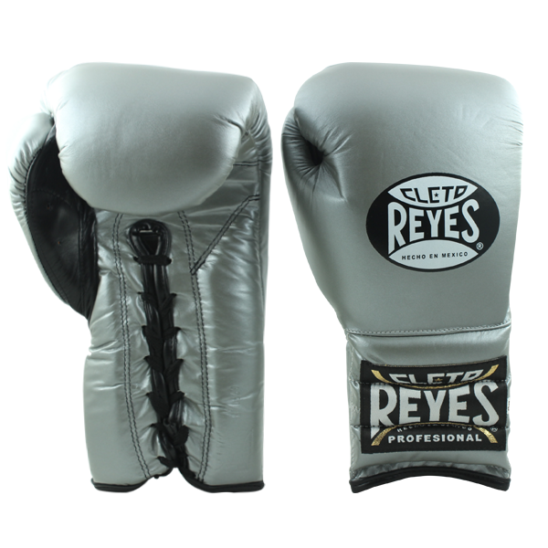 Cleto Reyes Traditional Training Lace Gloves Titanium