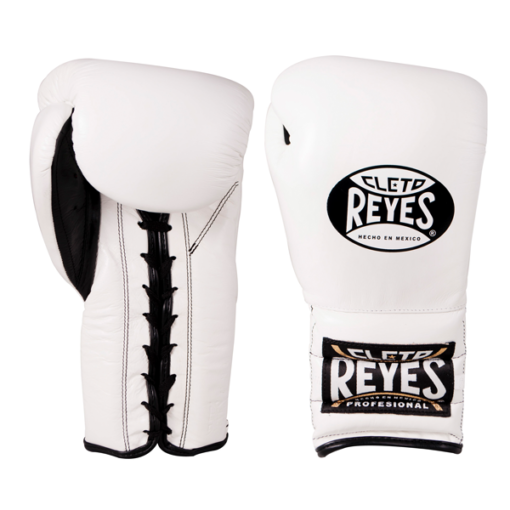 Cleto Reyes Traditional Training Lace Gloves White
