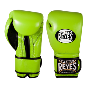 Cleto Reyes Training Gloves with Velcro Closure Citrus Green