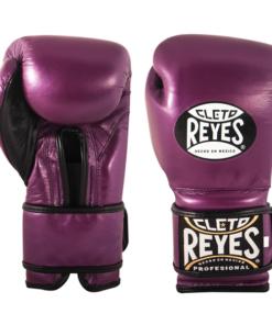 Cleto Reyes Training Gloves with Velcro Closure Metallic Purple
