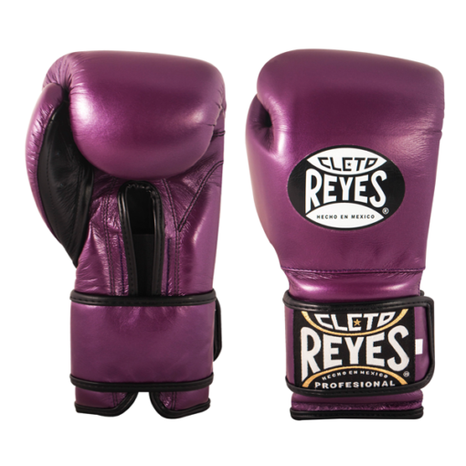 Cleto Reyes Training Gloves with Velcro Closure Metallic Purple