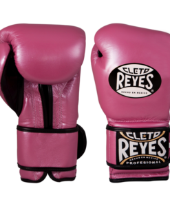 Cleto Reyes Training Gloves with Velcro Closure Pink