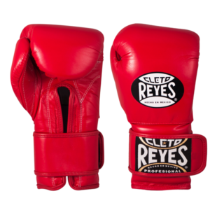 Cleto Reyes Training Gloves with Velcro Closure Red