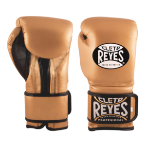 Cleto Reyes Training Gloves with Velcro Closure Solid Gold
