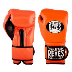 Cleto Reyes Training Gloves with Velcro Closure Tiger Orange