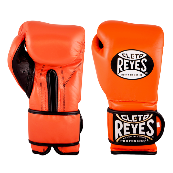 Cleto Reyes Training Gloves with Velcro Closure Tiger Orange