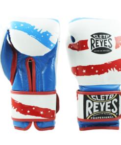 Cleto Reyes Training Gloves with Velcro Closure USA Flag