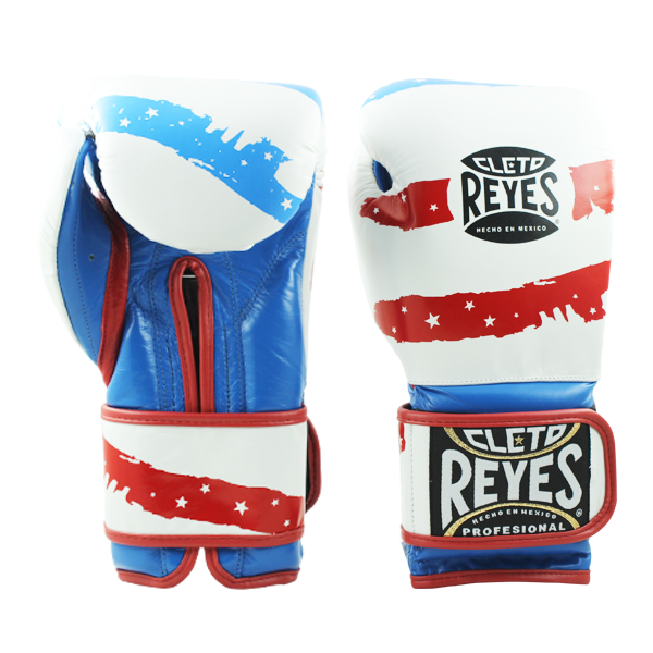 Cleto Reyes Training Gloves with Velcro Closure USA Flag