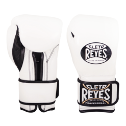 Cleto Reyes Training Gloves with Hook and Loop Closure - White