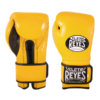 Cleto Reyes Training Gloves with Hook and Loop Closure - Brilliant Yellow