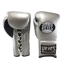 Cleto Reyes Traditional Training Lace Gloves Silver Bullet