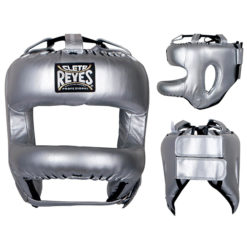 Cleto Reyes Redesigned Face Bar Headgear Silver Bullet